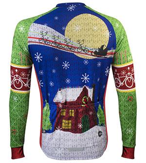 Christmas Jersey Back