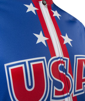 USA Cycling Jersey Chest