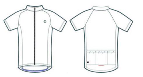 Solid Raglan bike jersey