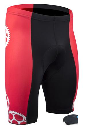 red bike shorts - sprocket man