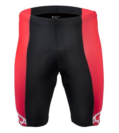 Red Bike Shorts