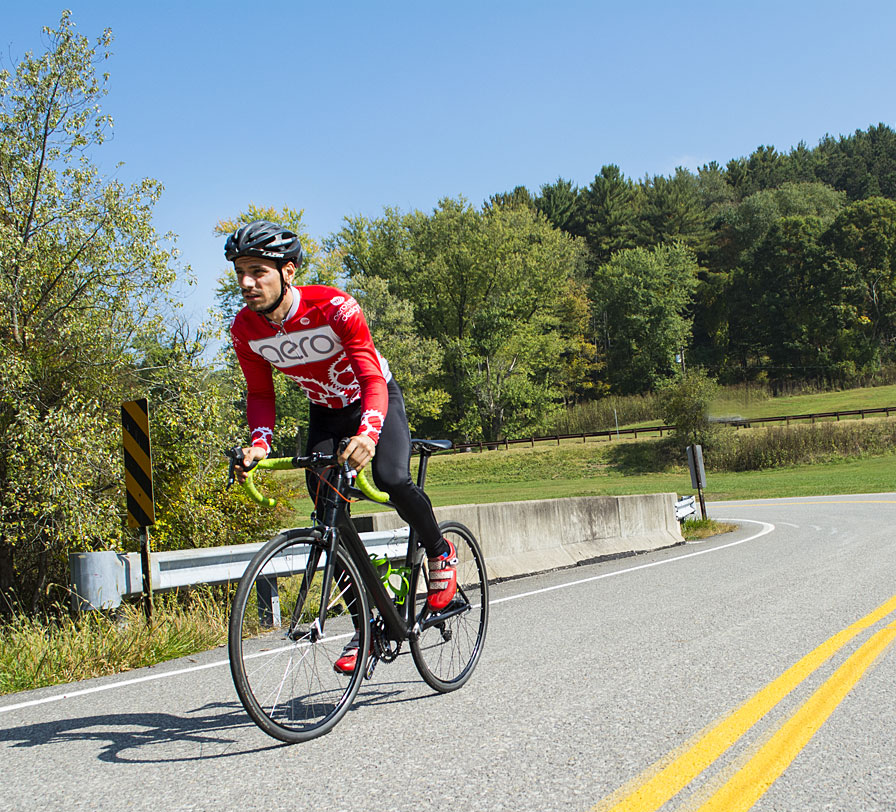Jordan Cycling in the Fall