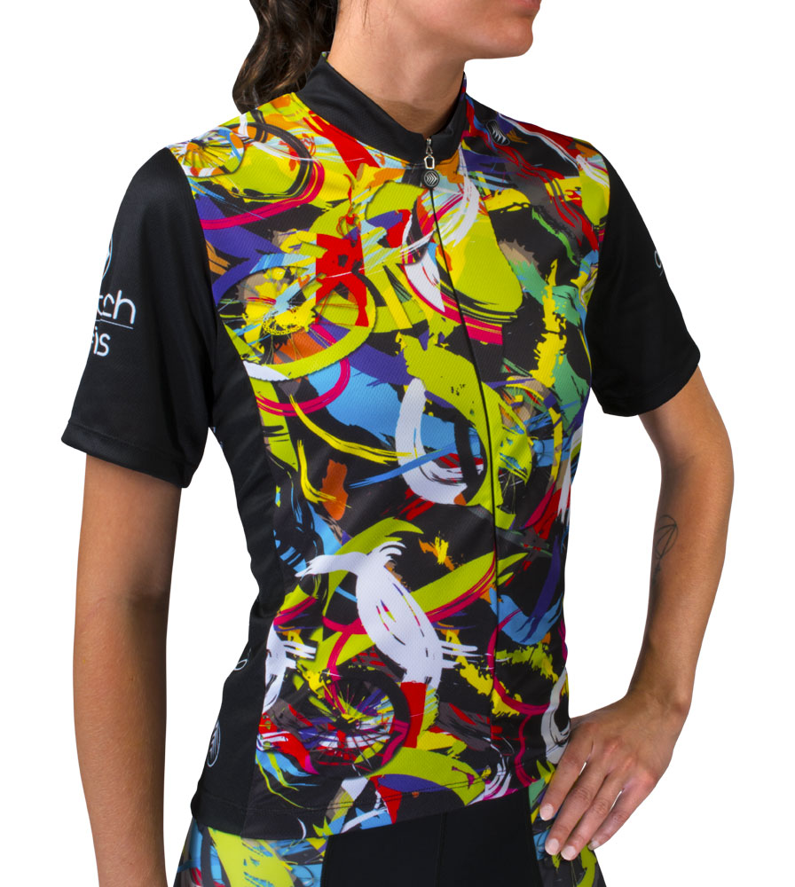 Women S Hide A Rider Cycling Jersey Designer Cycling Apparel