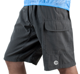 charcoal cargo shorts