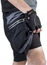 zippered cargo shorts