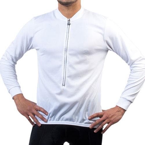 Mens Long Sleeve Coolmax Jersey