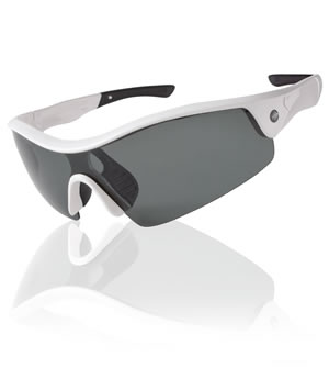 white wrap sunglasses