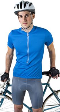 joe in royal blue cycle jersey