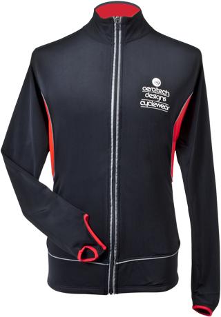 back view - reflective pocket