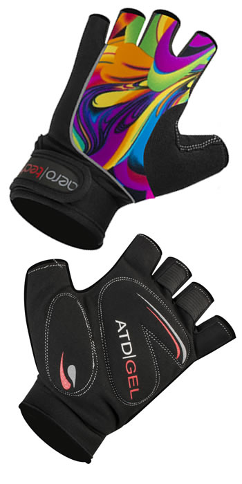 aero tech cycling gloves