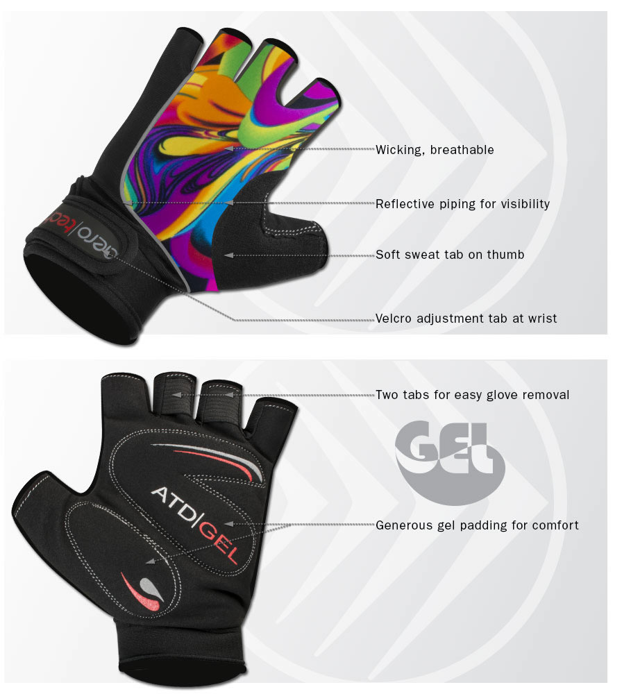 aero Tech Gel padded gloves