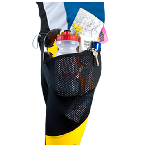 large deep pockets on bicycle touring short