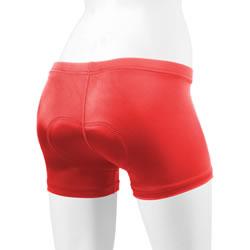 red padded spankie
