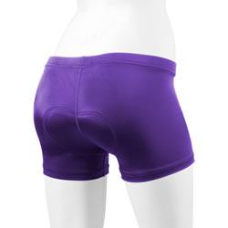 purple spankie short