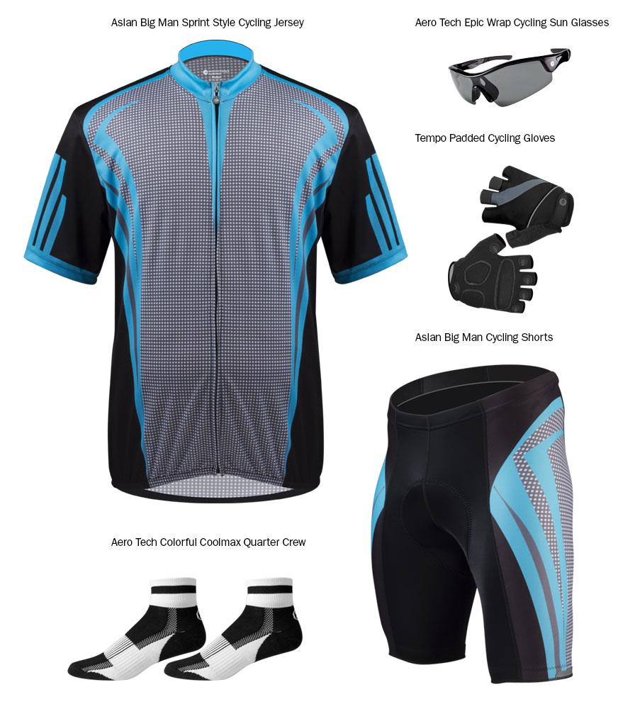 BIG Men's Aslan Cycling Kit