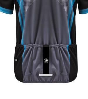 Aslan 3M Scotchlite reflective back pockets