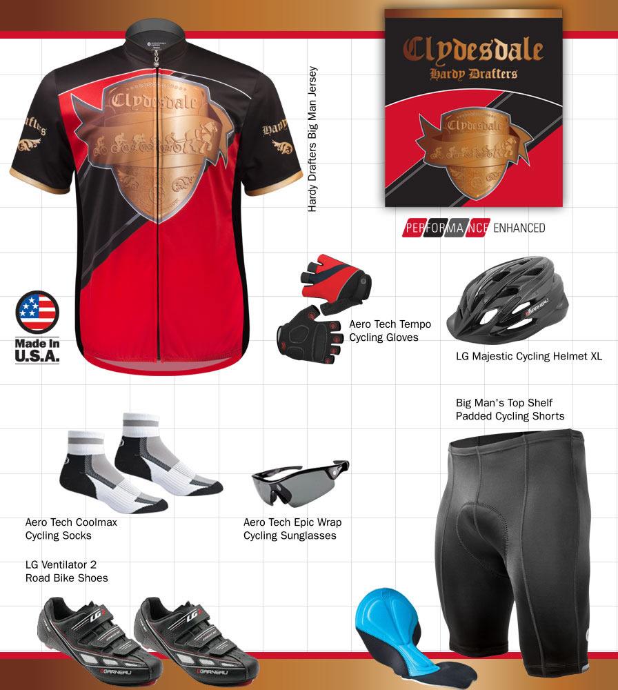 big size  cycling apparel