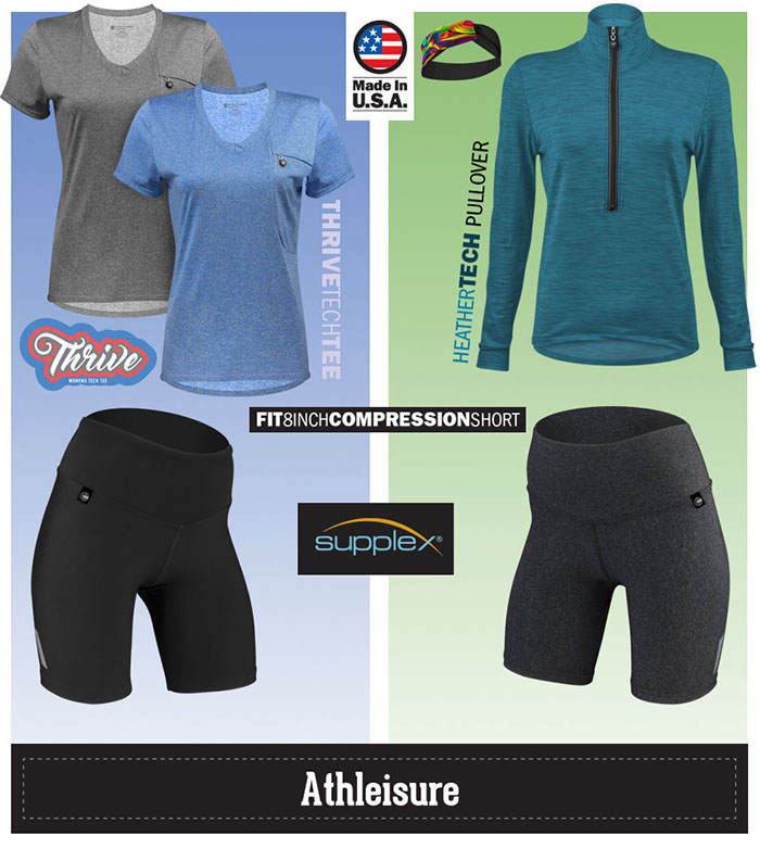 Mix and match with other cycling apparel to make it the perfect athleisure kit