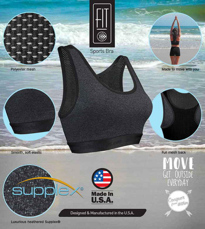 Lots of features that make it one of the best sports bras