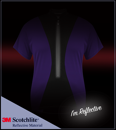 3M Scotchlite Reflective Front Zipper