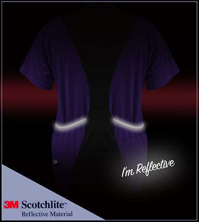 3M Scotchlite Reflective Expandable Back Pockets