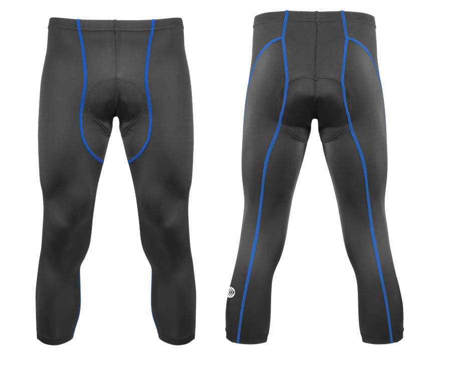 aero tech padded cycling knicker