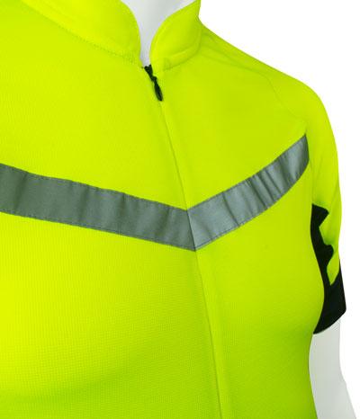 aero tech big man's cycling jersey pace front