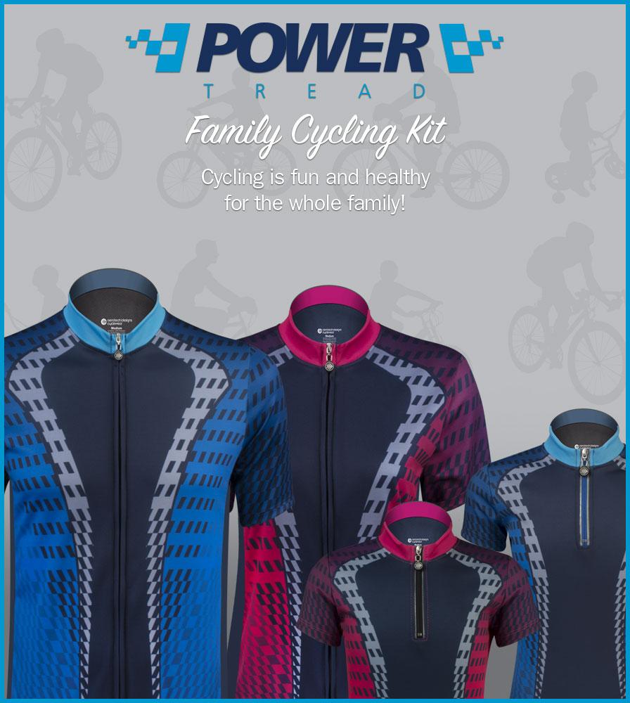 Power Tread Family Kit