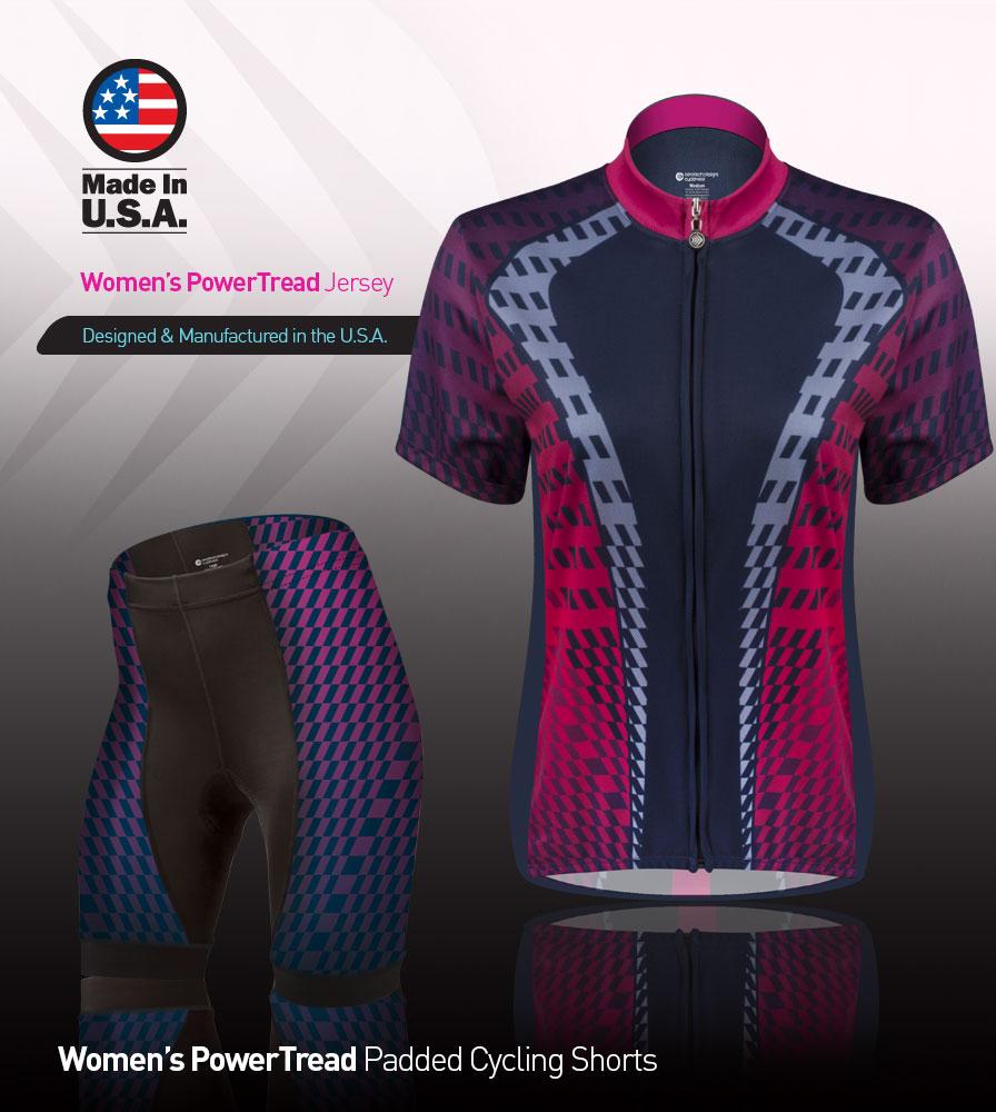 Pwoer Tread Women's Cycling Kit