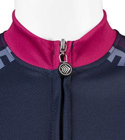 Easy to use full zipper