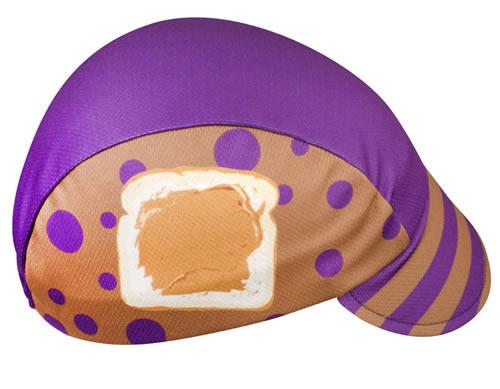 peanut butter cycling cap