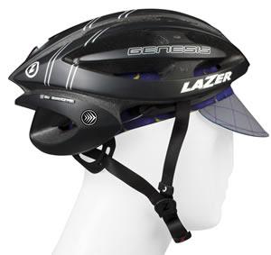 Fits under helmet