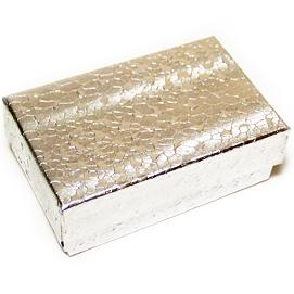 silver foil box