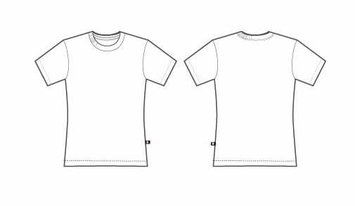 Printable T-shirt