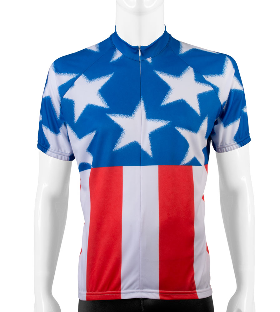 USA Patriotic Cycling Jersey USA Cycling Gear Aero Tech Designs - Two cycling kits worst designs ever