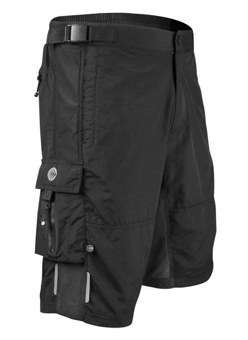 aero tech mountain bike shorts