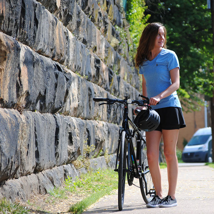 Thrive Tech Tee keeps you cool while on the go!