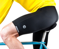 men's top shelf bike short