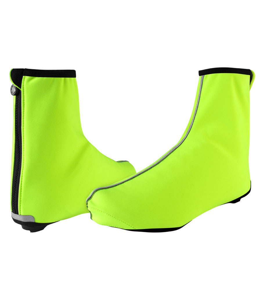 USA Cycling Shoe Cover Group in Safety Yellow