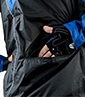 zippered hand pocket