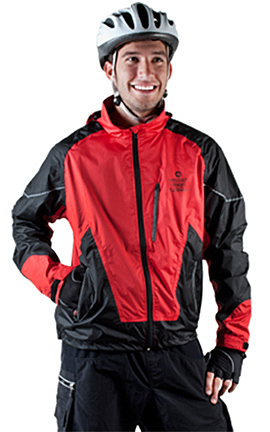 ATD Waterproof Breathable Cycling Jacket - A Raincoat for the ...