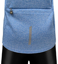 Large Back Zippered Pocket