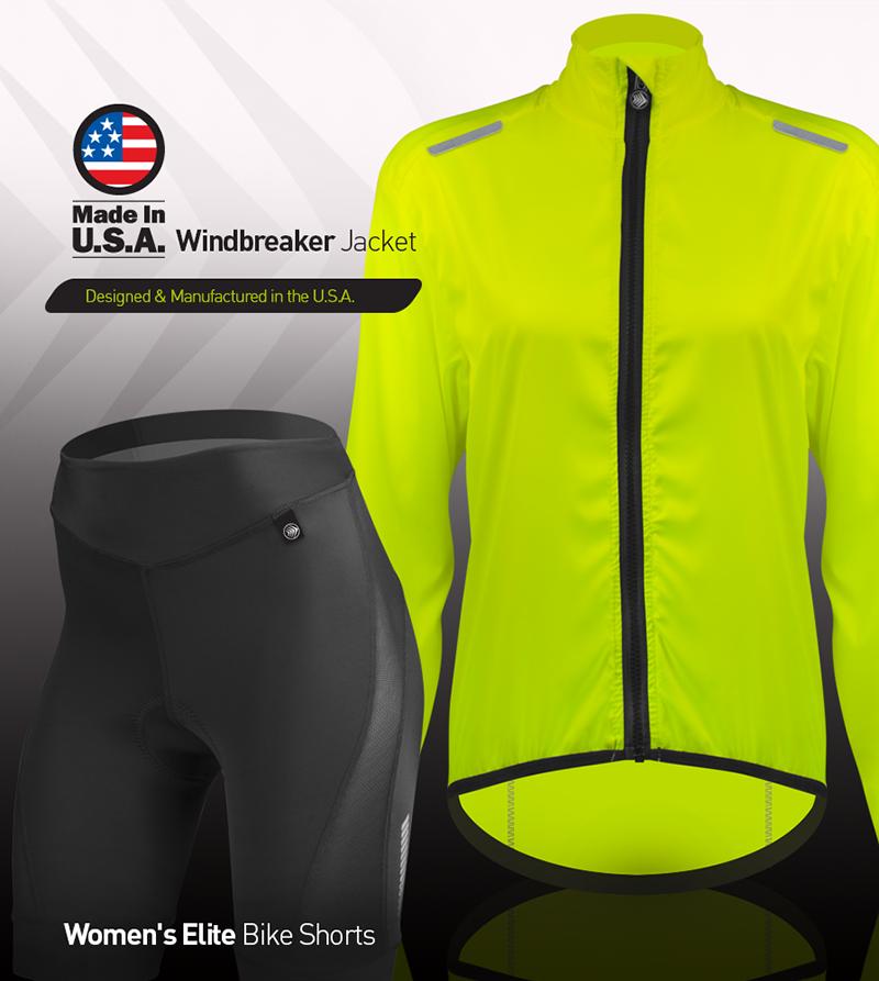 Make it an elite women's cycling kit