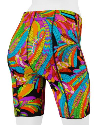 Rio Hippie Print Bike Shorts